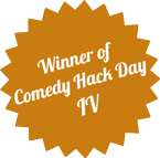 Winner of Comedy Hack Day 4